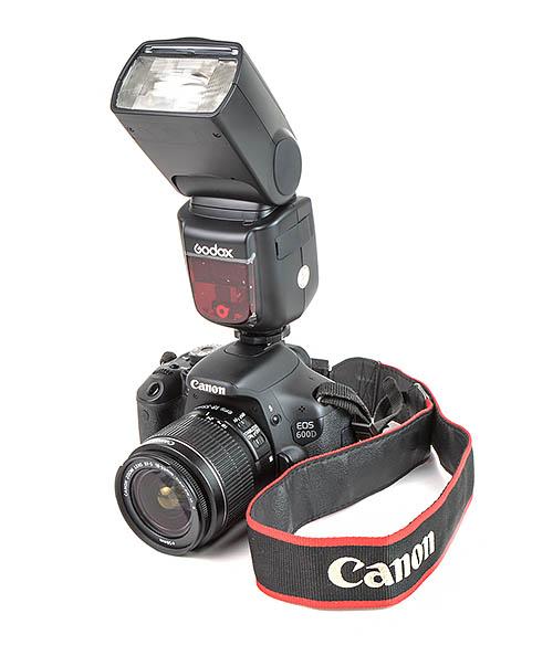 Вспышка Godox Ving V860II Canon